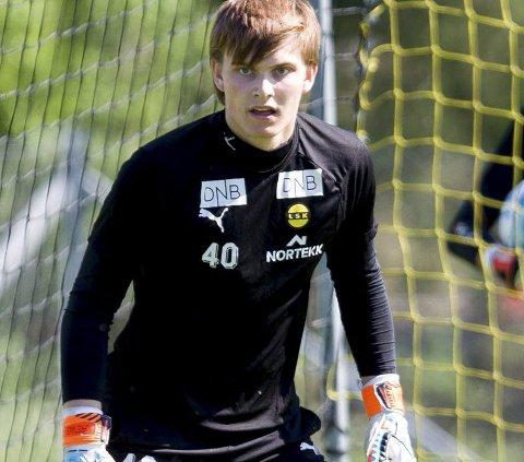 SPILLER KAMP: LSK lar Mjøndalen låne klubbens juniorkeeper Mads Christiansen i fredagens kamp mot Skeid.