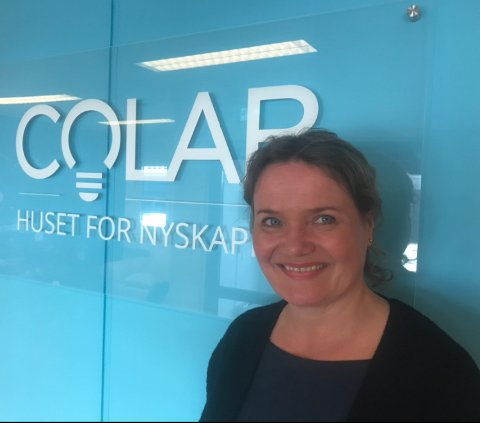 VEKST: Colab i Slemmestad skaper vekst og er et fruktbart miljø for innovasjon og nyskaping, sier leder av Colab Trine Maren Skott-Myhre. - Vi ønsker enda flere velkommen, understreker hun.