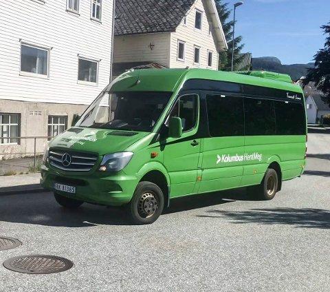 HENTMEG: I et halvt år har kollektivselskapet Kolumbus i Rogaland holdt på med «HentMeg». Nå skal det prøves ut også her.