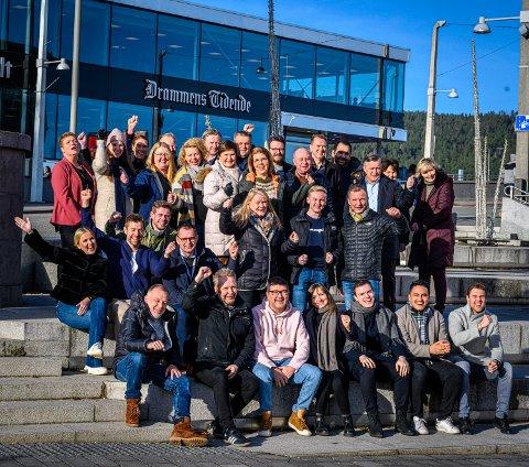 PENGEGAVE: Drammens Tidende skal dele ut én million kroner til gode tiltak. (Bildet er tatt før koronapandemien).