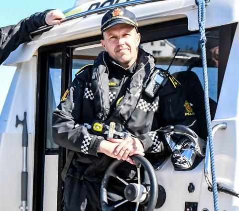 Fungerende politistasjonssjef i Kragerø, Terje Sandik.