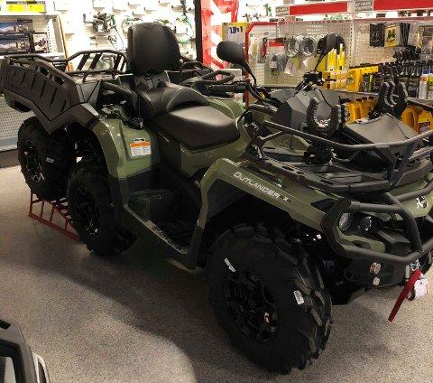 ATV: Det er ein ATV av denne typen, Can-An ATV 6x6, Velferdslaget Husnes Ambulanse no har fått midlar til å kjøpa inn. (Foto: Kvinnherad Ambulanse).