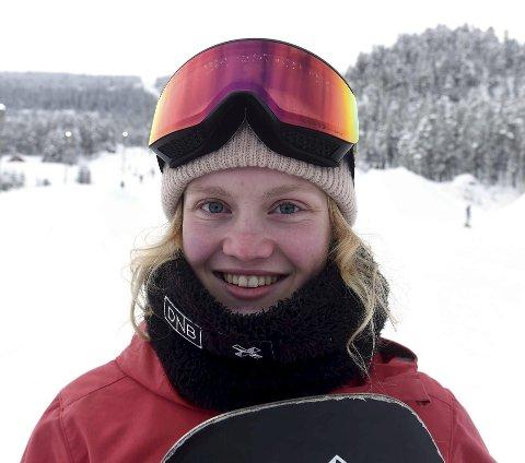 VANT IGJEN: Tina Steffensen vant også denne helgens norgescupkonkurranse i slopestyle.