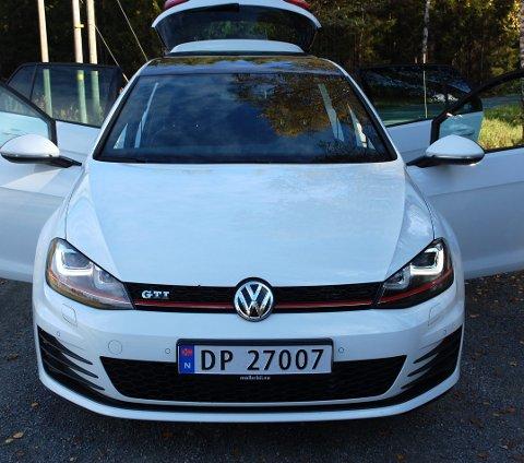 PÅ TOPP OGSÅ  HER: Ingen slår salgstallene til Volkswagen – heller ikke som bruktbil. Her en «god gammal Golf» i form av en heftig GTI.FOTO: ØYVIN SØRAA