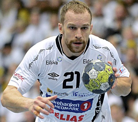 STERK: Tine Poklar imponerte Kristian Kjelling med sine finter mot Ademar León.