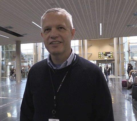 HAR kontroll: Prosjektleder Hans Petter Stensjøen.Foto: Hans Olav Nyborg
