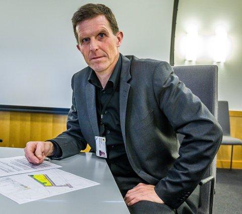 Direktør samfunn Sigmund Vister.