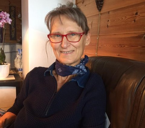 PENSJONIST: Eva Steen (68) bor i Mysen, men topper inntektslista i Moss for 2018.