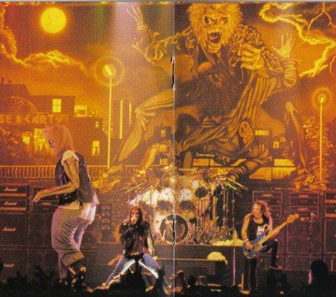 I DRAMMENSHALLEN: Iron Maiden.  Foto: privat