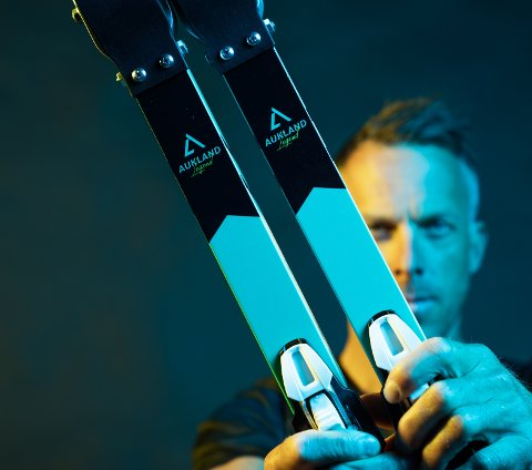 LANGRENNSLEGENDE: Anders Aukland lanserer sammen med broren Jørgen sin egen merkevare Aukland Legend.