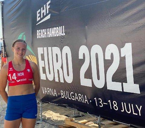 MESTERSKAP: EM i Bulgaria er Ine Grimsrud fra Son sitt første store mesterskap.