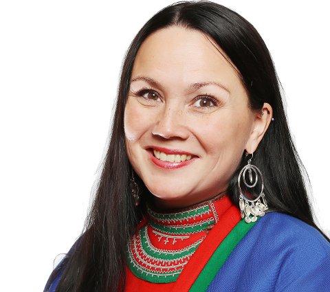 Leder i Norske Reindriftssamers Landsforbund (NRL), Ellinor Marita Jåma.