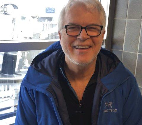 Nøgd:  Jan Otto Hoddevik er fungerande fabrikksjef.