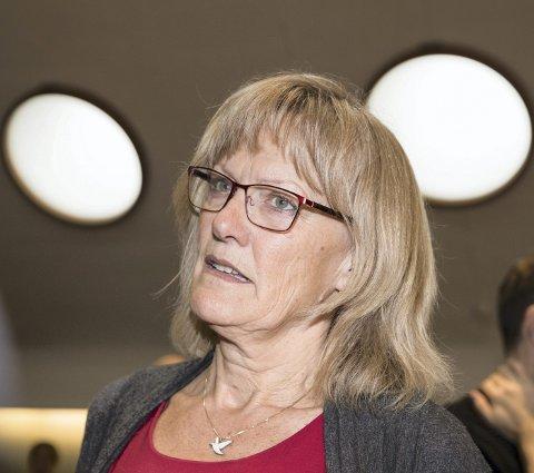 GALSKAP: Karin Andersen mener det er galskap å anbudsutsette driften av jernbanestrekninger.FOTO: NTB/SCANPIX