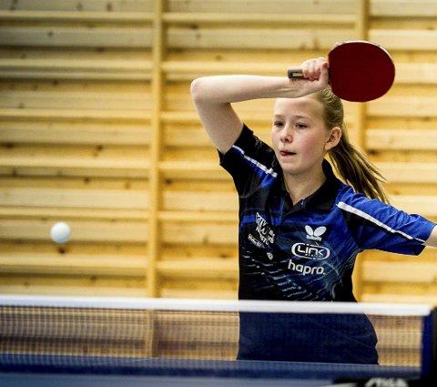 Solid: Lisa Lange leverte sterk innsats i norgescupåpningen i Lørenskoghallen.