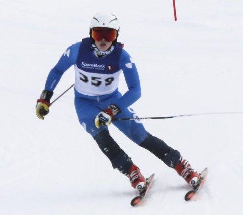 KM-GULL: Torjus Helgaker fra Harestua vant KM-gull i slalå. Arkivfoto