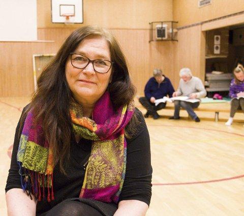 FORFATTER: Kristin Søhoel er forfatter av skuespillet «Parat» som er hovedattraksjonen på sommerens Stenhoggerfestival.