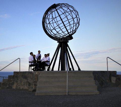 Nordkapp er den mest søkte turistdestinasjonar på Google Maps. Foto: Kristin Austigard/Det Norske Måltid