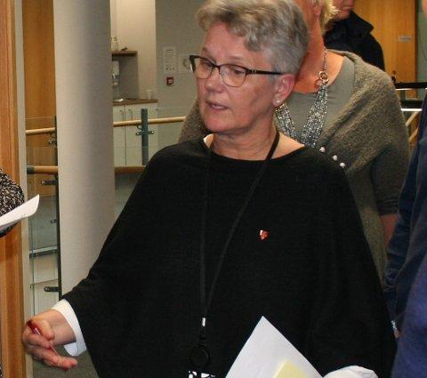 SA NEI: Fungerande ordførar i Vindafjord Tove Elise Madland (Ap) er skeptisk til at formannskapsmøtene skal sendast på tv.