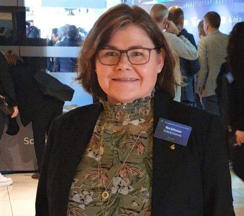 JOBBER FOR ÅKRAFJORDEN: Nina Kaltwasser.