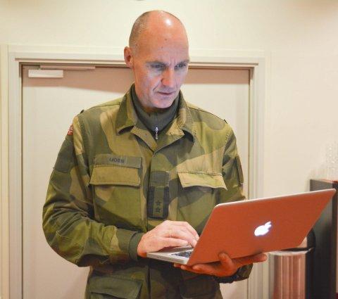 Talsmann: Oberstløytnant Ivar Moen er talsmann ved Forsvarets operative hovedkvarter.