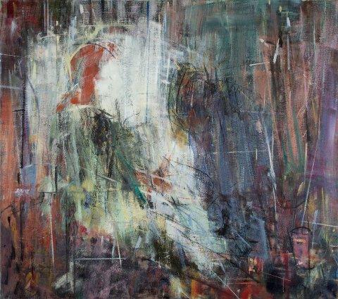 «SYK PIKE»: Dette bilde av kunstnaren Svein Johansen heiter «Syk pike» og er tileigna Edvard Munch.