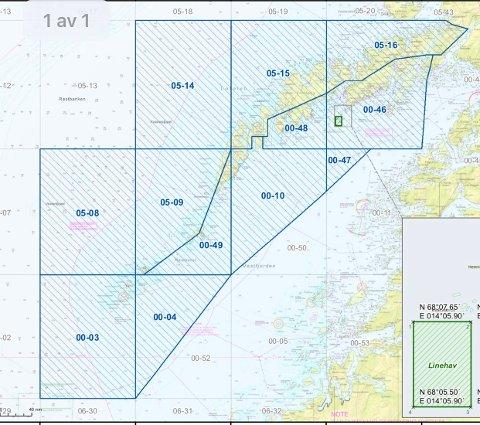 SNURREVAD: Ved fiske med snurrevad kan det maksimalt brukes fem kveiler tau i fangstrutene 00-10, 00-46, 00-47 og 00-48.