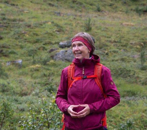 Den dyktige turlederen Grete Eilertsen Paulsen.