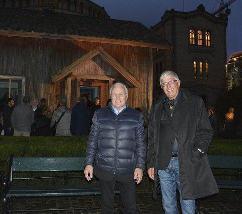 SLEKT: John Willy Andersen og Jan Henrik Pederstad.