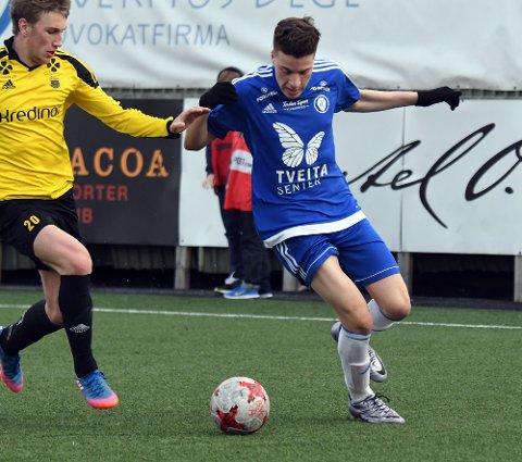 KOM TIL KORT: Nidal Loulanti og Oppsal var flere ganger nære scoring mot Bærum, men klarte ikke å få ballen i nettmaskene, og er med det ute av cupen.