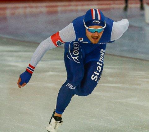 Kristian Ulekleiv må nøye seg med å være reserve på lagtempo i helgas skøyte-EM i Heerenveen.