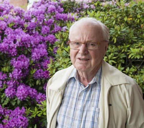 Kulturpris: Thor Lundh fikk kommunens kulturpris i fjor for sitt arbeid med Steinsymposiet.arkivfoto