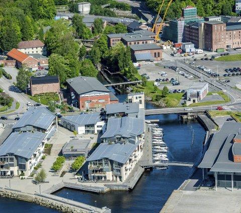 Historie: Hammerdalen byr på mye historie og nå kan du få Aina Aske som forteller på en spasertur.arkivbilde
