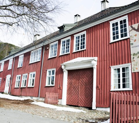 Vandring: Herregården er stedet for en vandring på Kulturminnedagen søndag.arkivfoto
