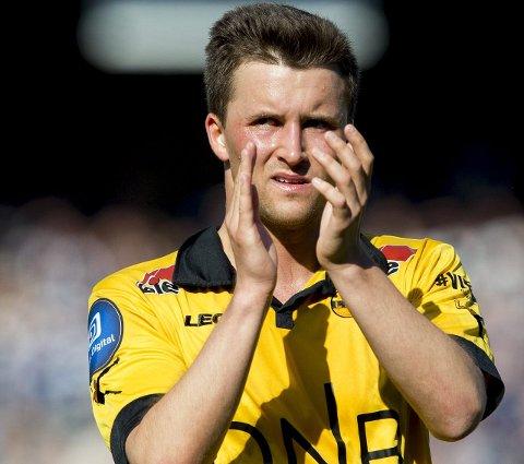 På nytt i gult? Stian Ringstad står uten kontrakt og er ønsket i Ull/Kisa. Hvorvidt nesbuen ender på Jessheim stadion gjenstår å se.