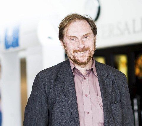 SPENT: Kinosjef Haakon Drage ved Ullensaker kino.foto: Lisbeth lund Andresen