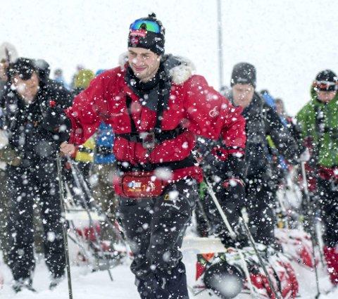 KLAR FOR STYRKEPRØVE: Kristian Horne sikter mot pallplass i «Åsnes Expedition Amundsen» senere denne måneden. FOTO: KAI-OTTO MELAU/XTREMEIDFJORD