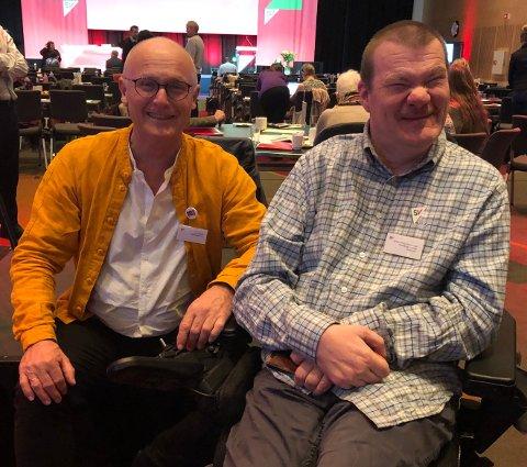 Lars Egeland og Kristian E. Sommerseth