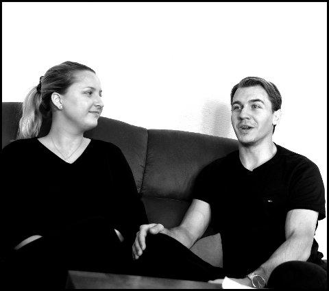 UNGDOMSKJÆRESETER: Martin Grönberg og Sofie Händemark har vært kjærester i hele tolv år.