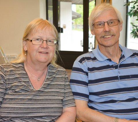 ARRANGØRER: Liv Marit Hillestad og Gustav Olsen er ansvarlig for munnspillseminaret.