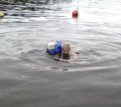 Fin tur: – Det var en kjempefin tur. Kan du svømme og er i noenlunde form er dette noe alle kan gjøre, sier ekteparet.