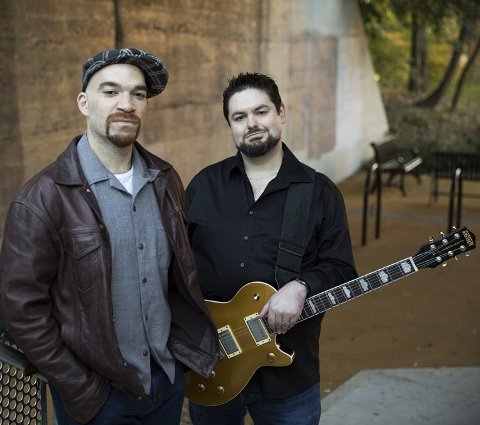 TILBAKE: Mike Welch og Michael Ledbetter opplever stor interesse rundt albumet «Right Place, Right Time». FOTO: PROMO