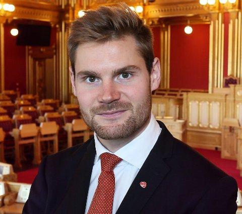 Nils Kristen Sandtrøen, landbrukspolitisk talsperson, Arbeiderpartiet.