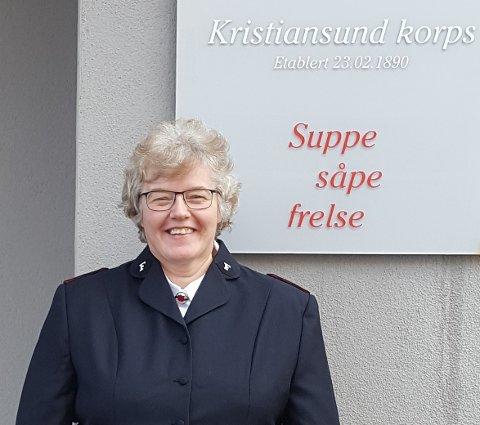 Marianne Spor gleder seg til å ta tak i jobben og ønsker å bidra positivt til byen.