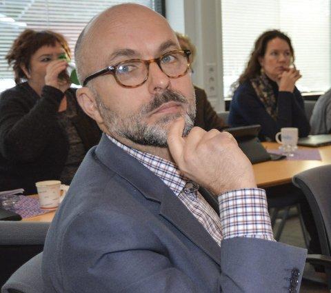 Rådmann Jarle Bjørn Hanken: Vil delegere mer makt til rådmannen.