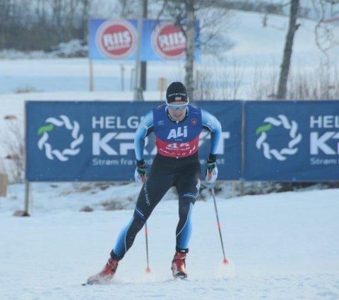 Utslått: Even Sæteren Hippe nådde ikke helt opp etter en glimrende prolog i skisprint under NM i Meråker fredag.