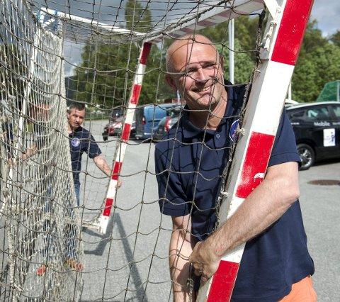 Turneringsleder Anders Fältnäs.