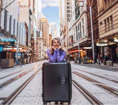 EVENTYRLYSTEN: 27 år gamle Emilie Jakobsenpakket kofferten og krysset jordkloden for å leve ut drømmen om å bo i Australia.