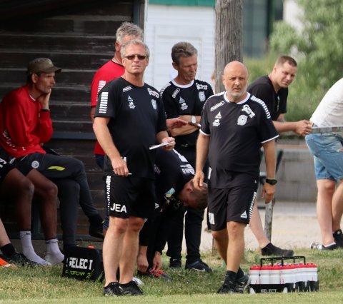 Nytt Østsiden-tap: Tor Arild Haddal og Østsiden ligger utsatt til på tabellen. Lørdag ble det tap i det viktige oppgjøret mot Skjetten. (Foto: Harry Johansson)