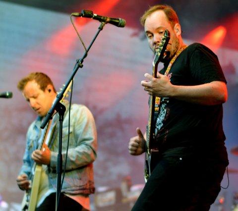 LIVE I HORTEN: Selveste Kvelertak spiller live i Artilleriverkstedet fredag kveld - her fotografert på Verven for et par år siden.